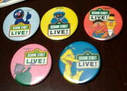 Sesame street live buttons
