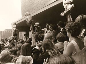 Center for Puppetry Arts - Opening 1978 - Jim Henson & Kermit