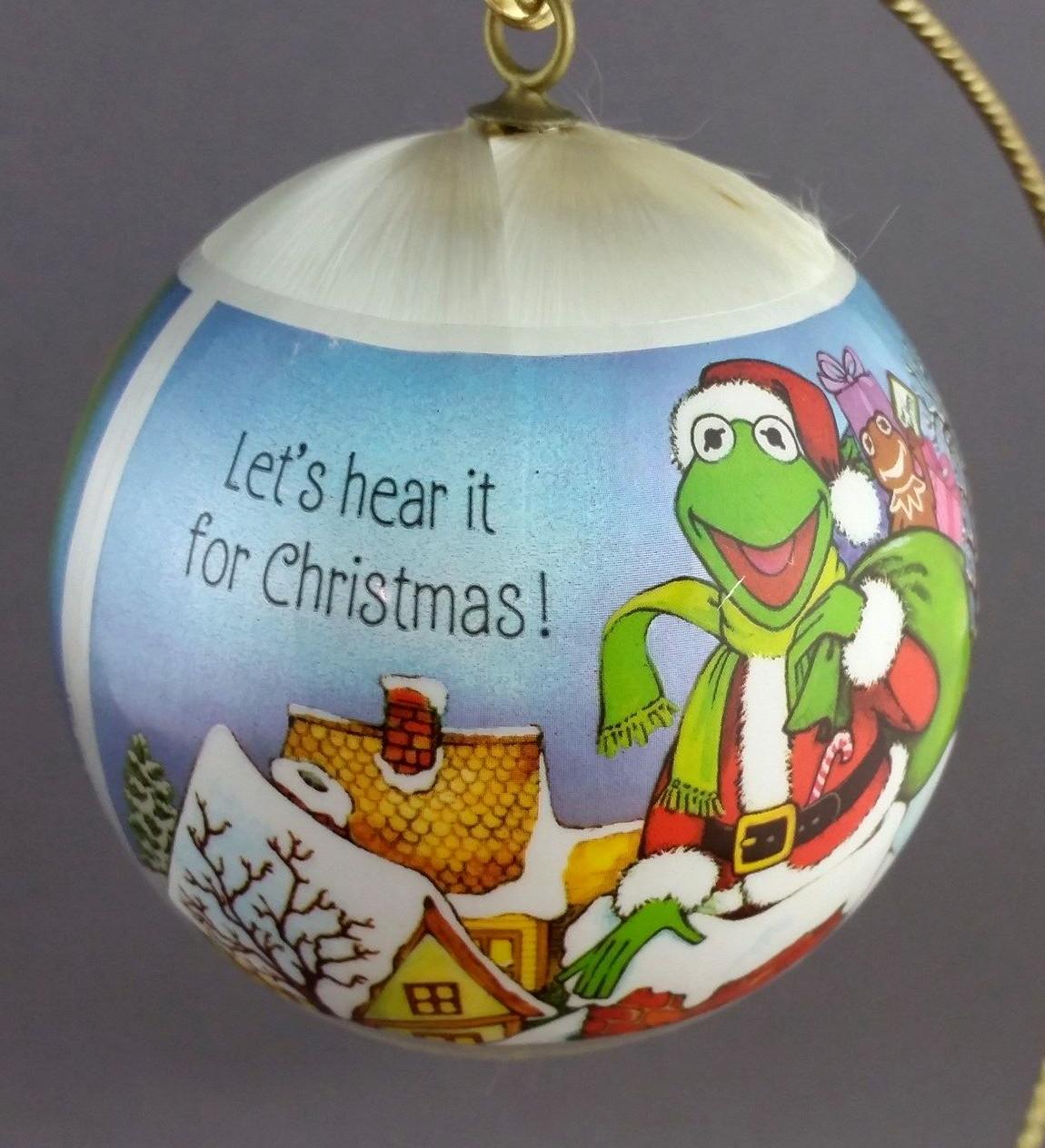 Muppet Christmas Ornaments (Hallmark)