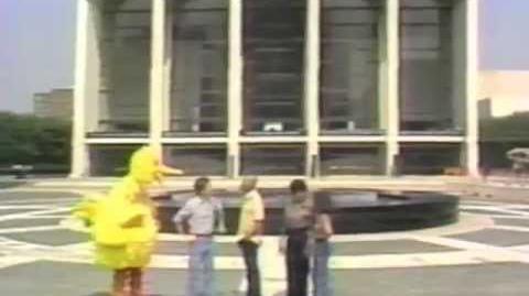 Sesame Street at Lincoln Center