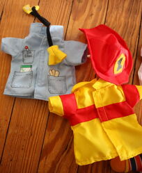 Applause 1999 dress up ernie set 2