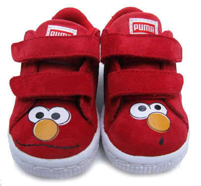 File:Puma toddlers suede sneakers elmo.jpg