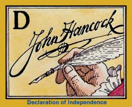 1976 John Hancock signature