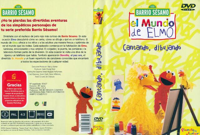 File:Barrio Sesamo El Mundo De Elmo Cantando, Dibujando-Caratula.jpg