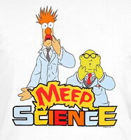 Meep science shirt