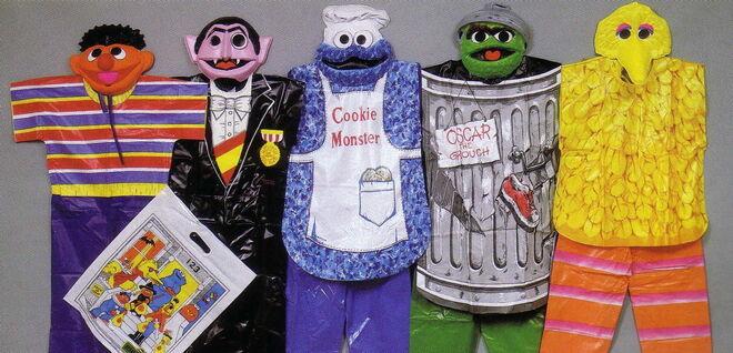 Ben cooper 1986ish halloween costumes sesame