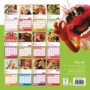 Muppet 2017 Calendar Danilo Back