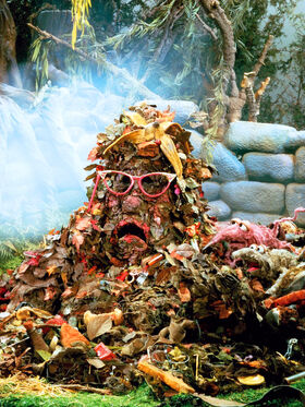 Trash heap