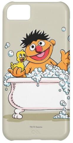 File:Zazzle vintage ernie in bathtub.jpg