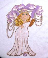 Martex 1980 miss piggy hand towel 2