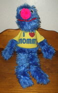 Applause 1982 grover plush i love my mommy