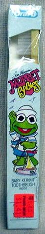 File:Oral-b toothbrush baby kermit muppet babies.jpg