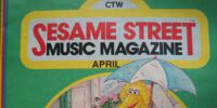 Sesame Street Music Magazine Vol. 2, No. 7
