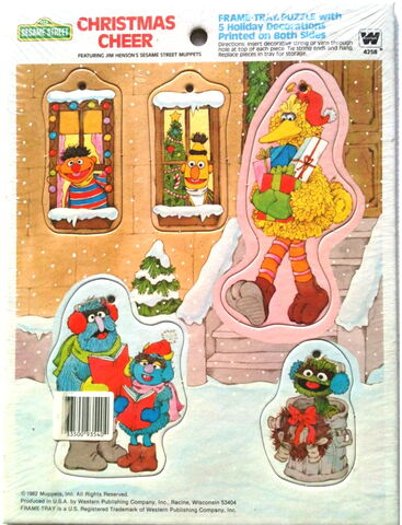 File:Western golden 1982 frame-tray puzzle and tree ornaments.jpg