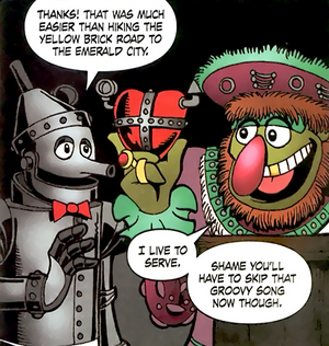 Muppet King Arthur - Tin Man