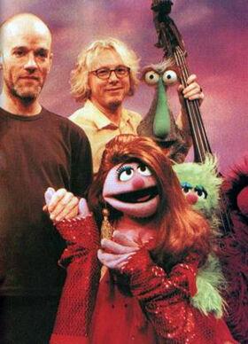 REM Kate Pierson Muppet