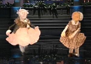Dancing grandmas