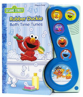 Rubber duckie bath time tunes