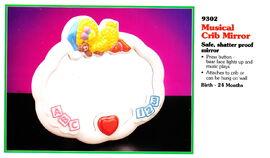 Tyco 1993 musical crib mirror