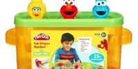 Sesame Street Fun Shapes Bucket