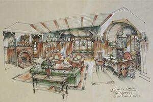 Kermits office sketch