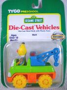 Tyco matchbox 1996 die-cast car bert crane