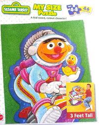 Mattel 1999 my size puzzle ernie 1