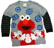Morfs 2011 elmo holiday shirt