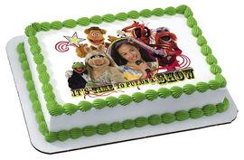 Decopac edible cake topper personalized