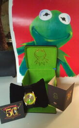 Fossil 50th anniversary kermit watch limited edition 2