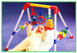 Tyco 1993 baby play gym