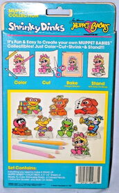 Colorforms 1985 muppet babies shrinky dinks set 2
