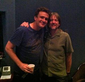 Jason Segel and Steve Whitmire