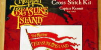 Muppet Treasure Island cross stitch kits