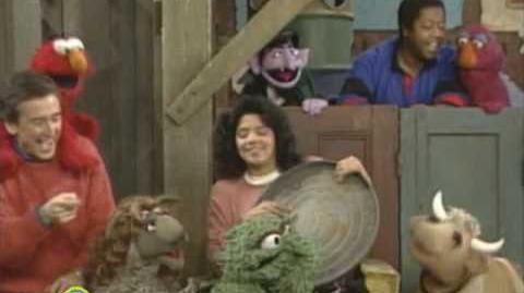 Sesame Street Oscar Don't Sing This Song