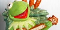 Muppet cookie jars (Treasure Craft)