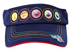 Sesame place hat sun visor