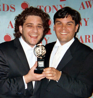 564px-Robert Lopez Jeff Marx Tony Awards