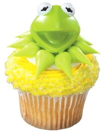 Decopac cupcake toppers kermit