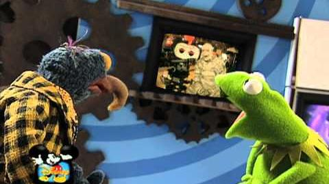 Muppets in Disney's Under Wraps Behind the Ears