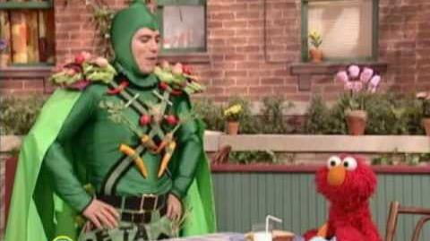 John Leguizamo Is Captain Vegetable
