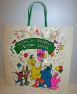 Jc penney shopping bag 1988 20th birthday