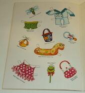 Muppet babies paper doll book 4
