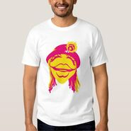 Zazzle janice head shirt