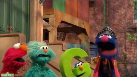 "Sesame Street Song - Super Grover with a ""G"""