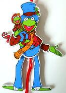 Kurt adler muppet christmas carol flat christmas ornaments 3