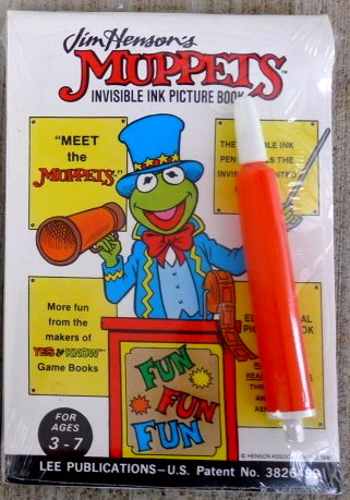 File:Lee publications 1988 meet the muppets invisible ink magic pen book 1.jpg