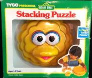 Tyco 1996 stack puzzle big bird