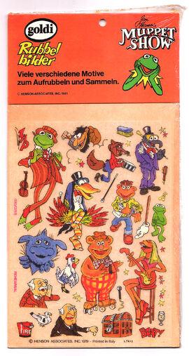 MuppetShowGoldiRubbelbilder-1981-1of4