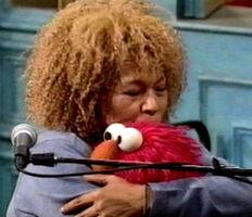 Kiss Elmo Roberta Flack